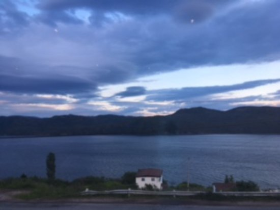 Woody Point, Canada: View from dining room, took this picture while having dinner from my table