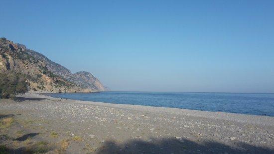 Sougia, Grécia: Strandsicht vom Oceanis