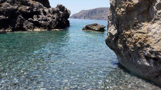Sougia, Greece: kleine Bucht ganz in der Nähe