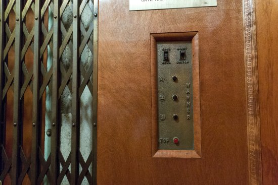The Biltmore Greensboro: Greensboro's first electric elevator