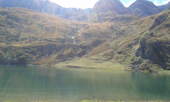 Usseglio, Italia: il lago
