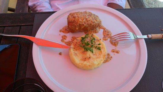Restaurant La Salamandre : Andouillette à la moutarde