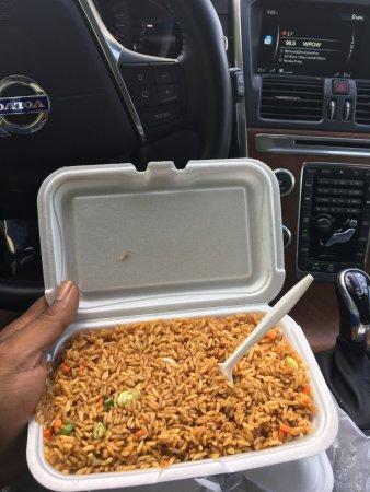 Lauderdale Lakes, ฟลอริด้า: vegi fried rice, perfect!