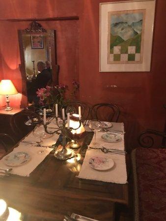 El Son de los Grillos: Dinning room