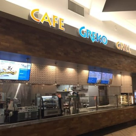 Greko Grill Cafe Service Counter At The Arden Fair Mall Food Court