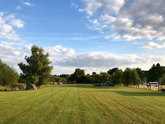 Hoarwithy, UK: Tresseck Campsite
