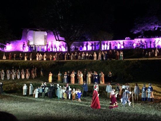 Chatillon-sur-Chalaronne, Frankrig: Fin du son et lumières