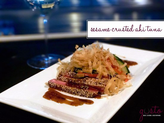 Waverly, IA: Sesame Crusted Ahi Tuna