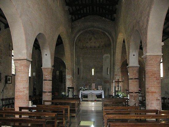 Gazzo Veronese, Italia: Interno chiesa