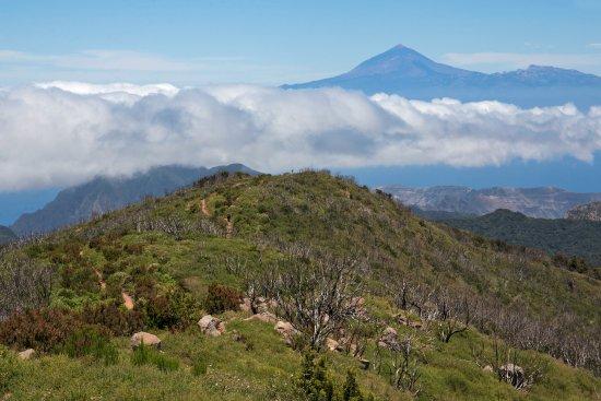 Alto de Garojonay: Вд на Тенерифе