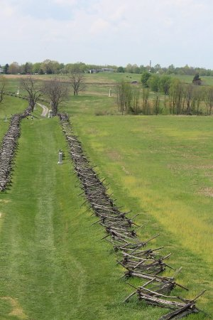 Sharpsburg, MD: Antietam scenery from the tower