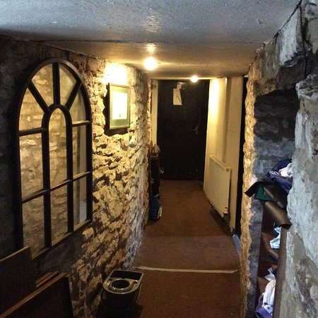 Romaldkirk, UK: Walk back in time to the loos