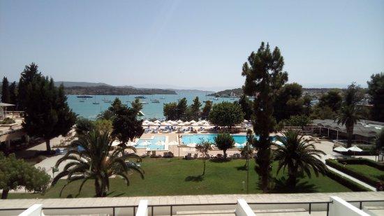Porto Heli, اليونان: Θεα απο το δωματιο μας