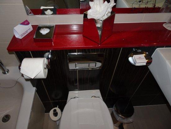 Blanchardstown, Irland: Toilet area