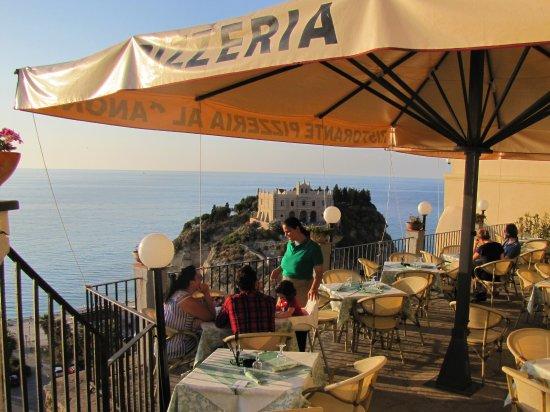Ristorante Al Cannone : terraza