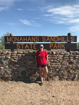 Monahans Sandhills is a great stop! Lots of fun!