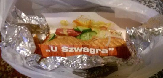 U Szwagra - Karmelicka: Hot dog
