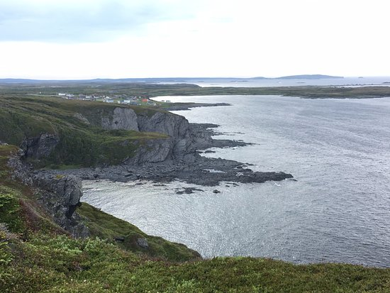 Newfoundland, Canadá: Summit of the hike near B & B. Amazing panorama