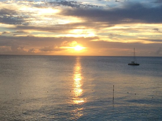 Holetown, Barbados: View from room 302
