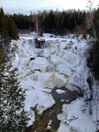 Eagle River Falls, November 2014