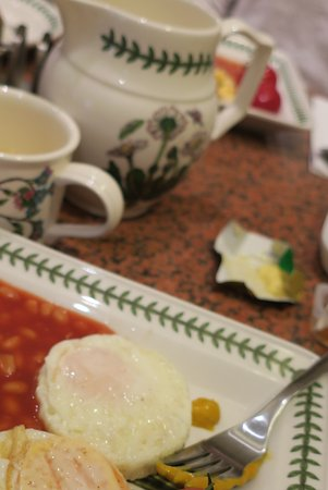Jesmond Hotel: English breakfast végétarien