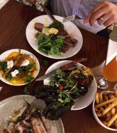 Ox Club : Mains and sides