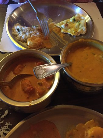Tandoori Oven: Shrimp Coconut Kurma