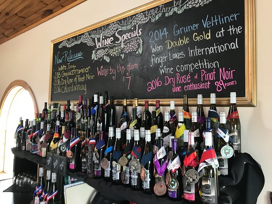 Three Brothers Wineries and Estates: Just a few medels