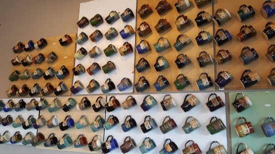 Wixom, MI: Ceramic Drafting Table Mugs