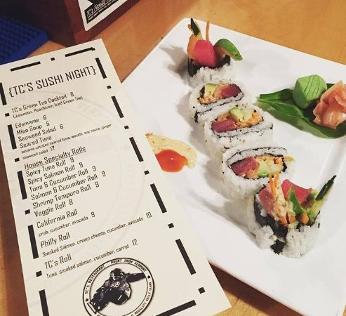Dover, VT: TC's Sushi Night