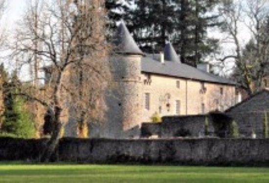 Chateau de Roussac : The chateau