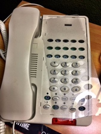 Extended Stay America - Sacramento - South Natomas: Broken buttons, missing face plate and wake up call that never comes