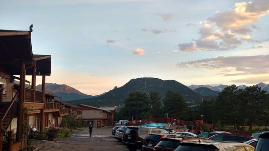 Hotel Estes : View from the top of the hill that the Hotel resides on.