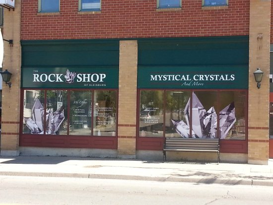 The Rock Shop of Kleinburg Mystical Crystals & More