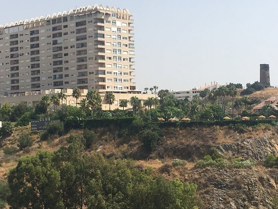 THB Torrequebrada Hotel: 7th floor view Malaga building