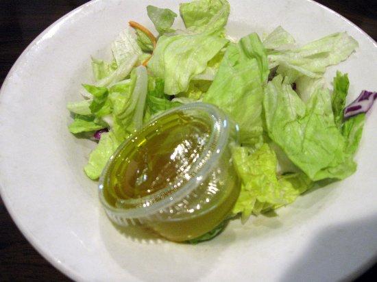 Vincennes, IN: Side salad