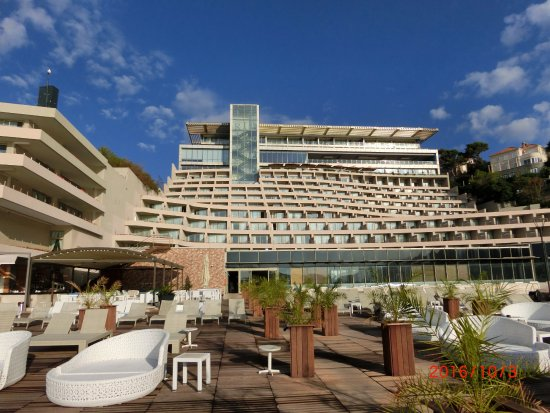 Rixos Hotel Libertas: プールサイドから