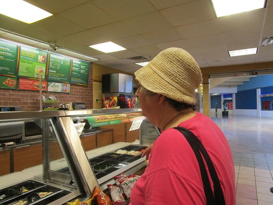 That is me at Subway Lincoln Mall.