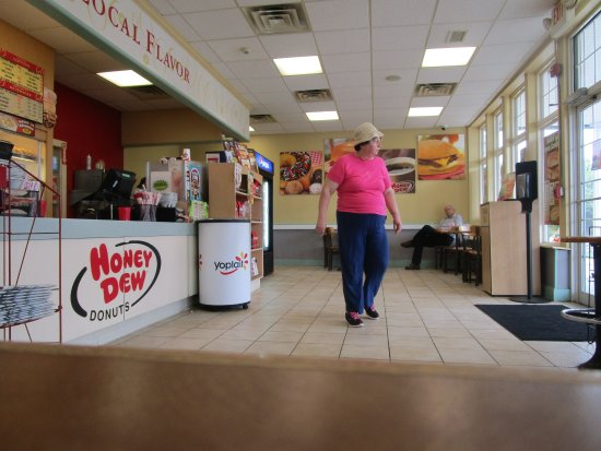 That is me at Honey Dew Donuts Cumberland, R.I.