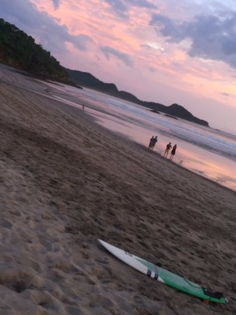 Rivas, Nicaragua: Beautiful beach! Fun to watch the surfers!