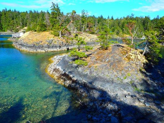 Halfmoon Bay, Canada: Small islands