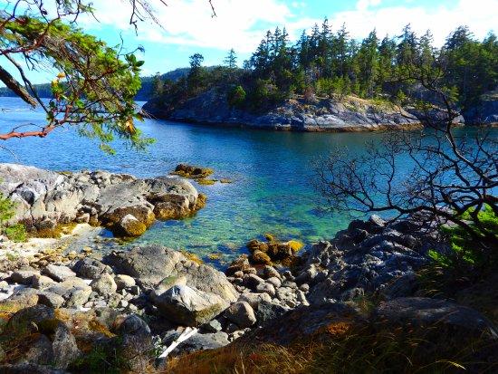 Halfmoon Bay, Canada: Coastline view
