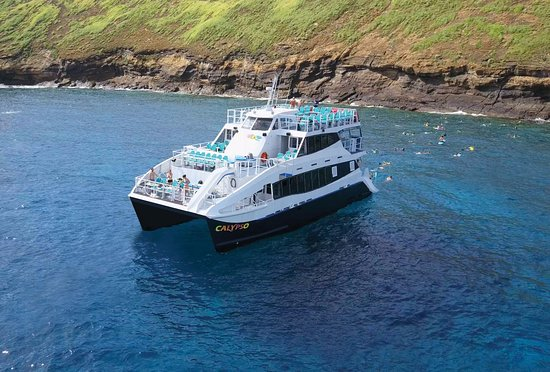 Wailuku, HI: Calypso is a state-of-the art, triple decker catamaran introduced in 2017