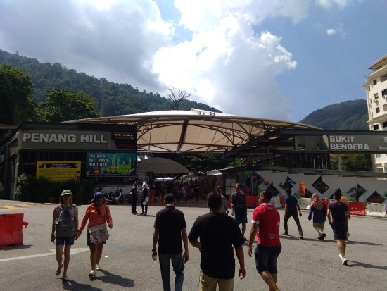 penang hill how to get there