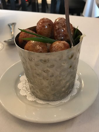 The Federal Restaurant & Bar: Risotto balls