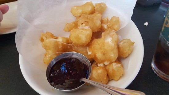 Manitowoc, WI: Cheese curds are awesome!