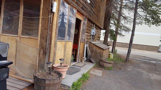 Sleepy Hollow Lodge: área externa