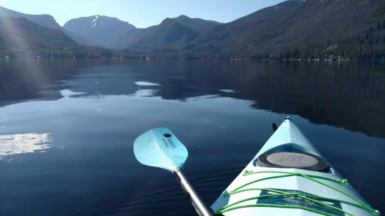 A tranquil morning kayaking on Grand Lake!
