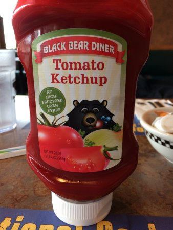Black Bear Diner: Yep, even have their own ketchup label
