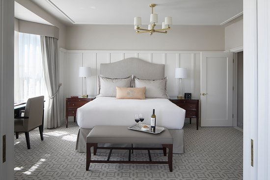Lovely newly renovated bedroom: Custom designed furniture ...